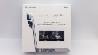 Photo of Uso de Lume Cube Air VC para videoconferencias y fotografías de productos