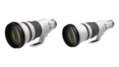 Photo of Canon lleva 400 mm f / 2.8, 600 mm f / 4 a la montura RF